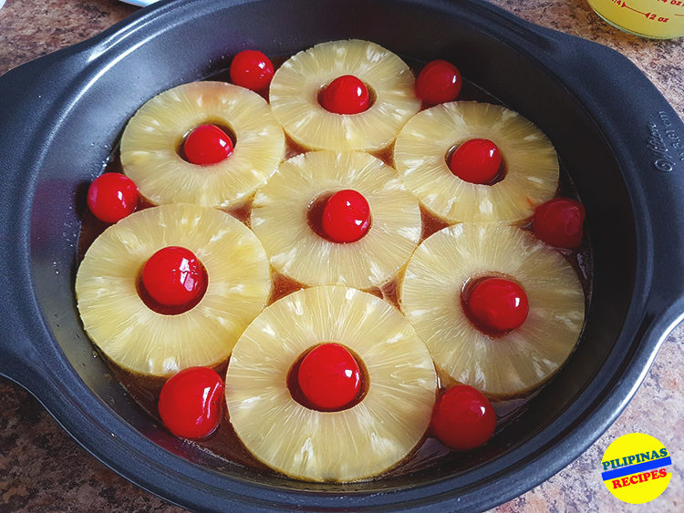 Pineapple Upside Down Cake Ingredients