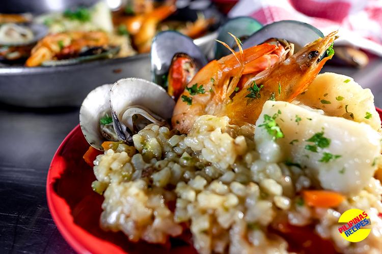 Paella De Marisco Pilipinas Recipes
