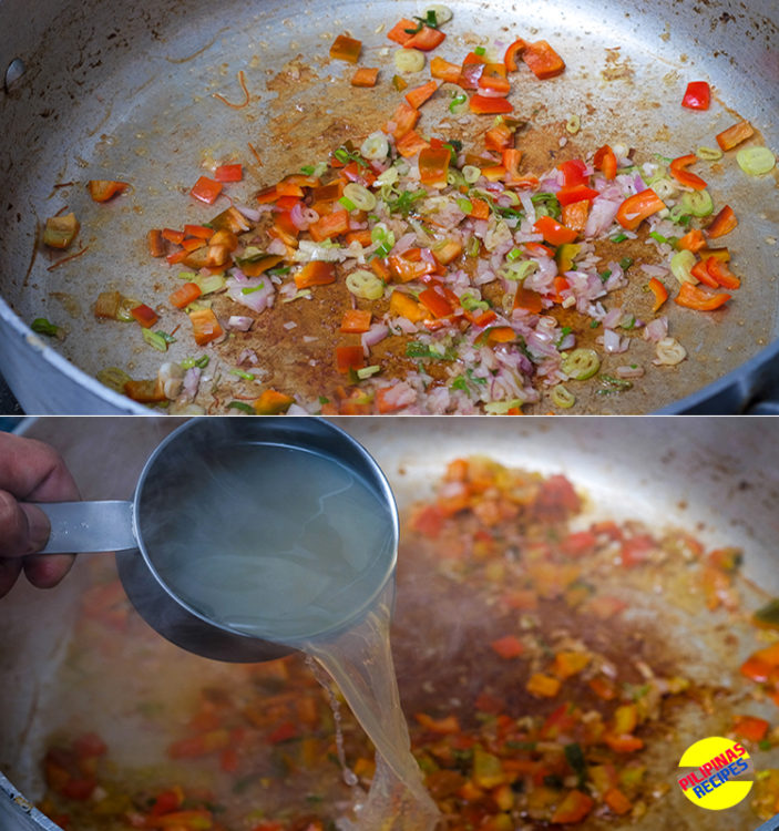 Paella De Marisco Preparation 3