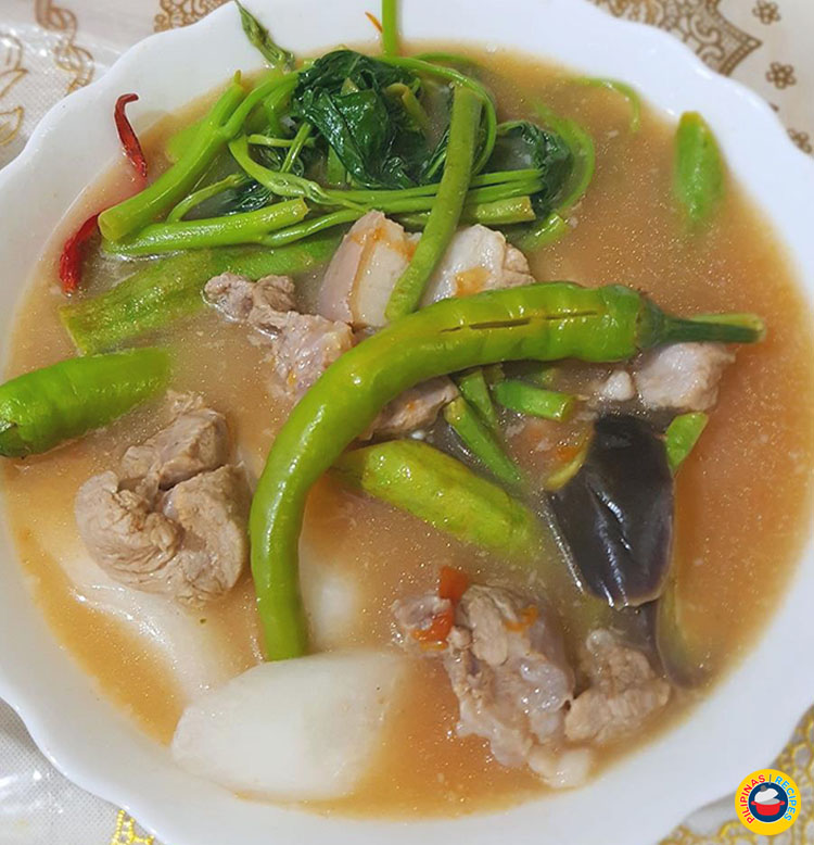 Pork Sinigang with Gabi