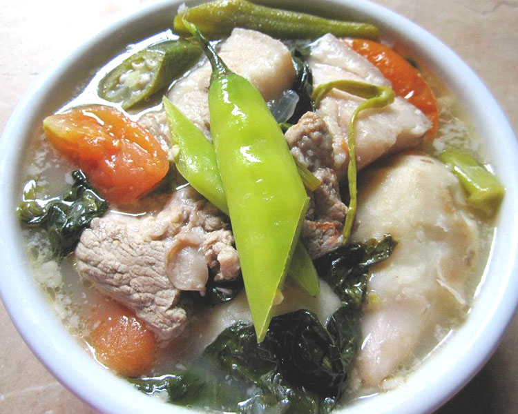 Pork Sinigang With Gabi Recipe Pilipinas Recipes
