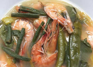 Sinigang na Hipon - Recipe