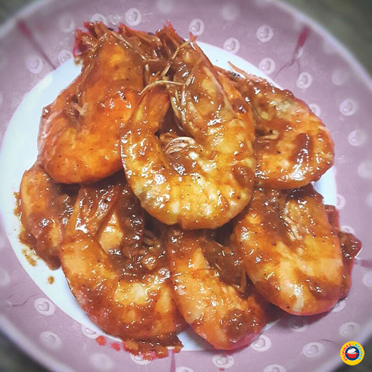 Chili Buttered Shrimp Recipe