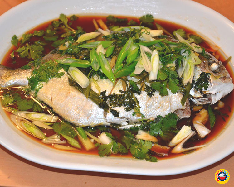 Steamed Fish with Oil