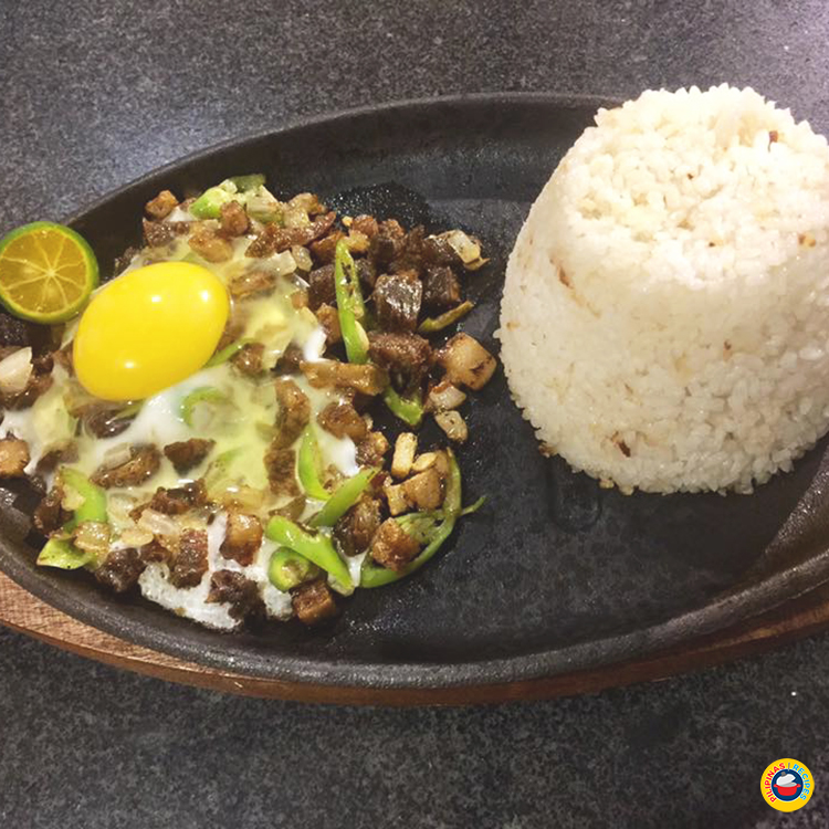 Sizzling Pork Sisig Special