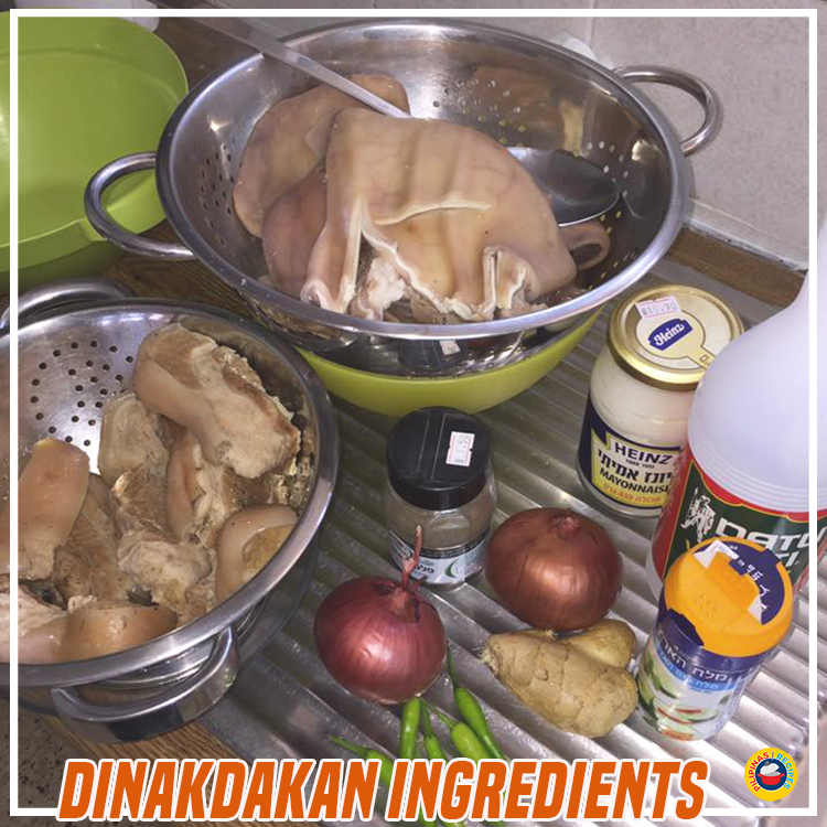 Dinakdakan Ingredients