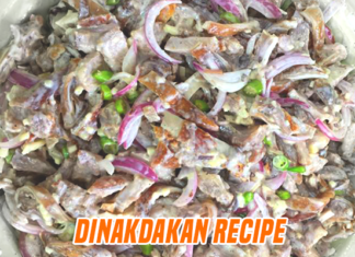 Featured Dinakdakan Recipe