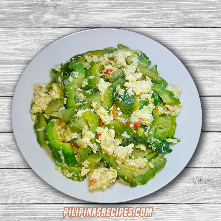 Ampalaya with Alamang Recipe