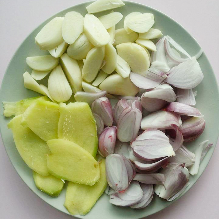 Paksiw na Galunggong Ingredients