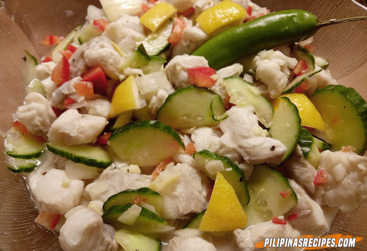 Filipino Fish Ceviche