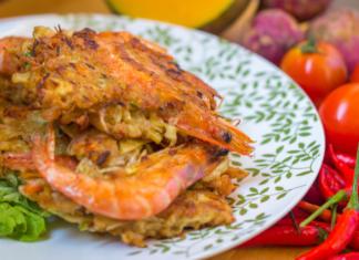 Vegetable Okoy Recipe - Pilipinas Recipes