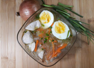 Chicken Sotanghon Soup