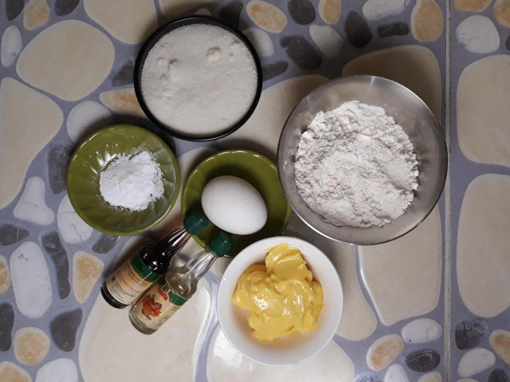 Sugar Cookies Ingredients
