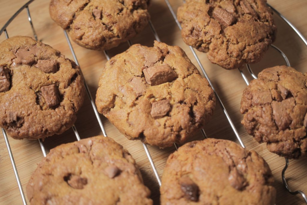 Turbo Oven Chocolate Chip Cookie