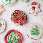 Sugar cookies with frosting