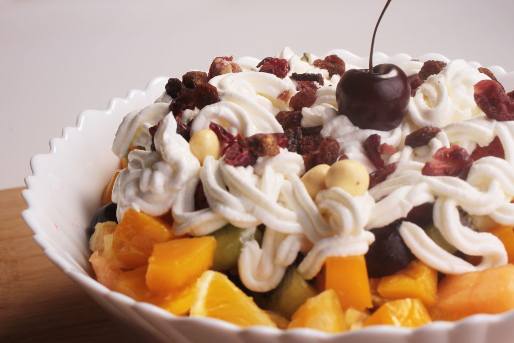 Whipped Cream Cheese Fruit Salad Recipe