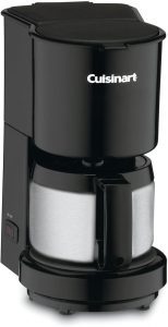Cuisinart DCC-450BK with stainless steel carafe