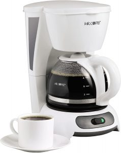 Mr. Coffee TF4-RB 4-cup switch Coffee Maker