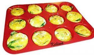 Keliwa 12 Cupcake Baking Pan