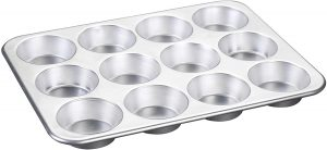 Nordic Ware Natural Aluminum Commercial Muffin Pan